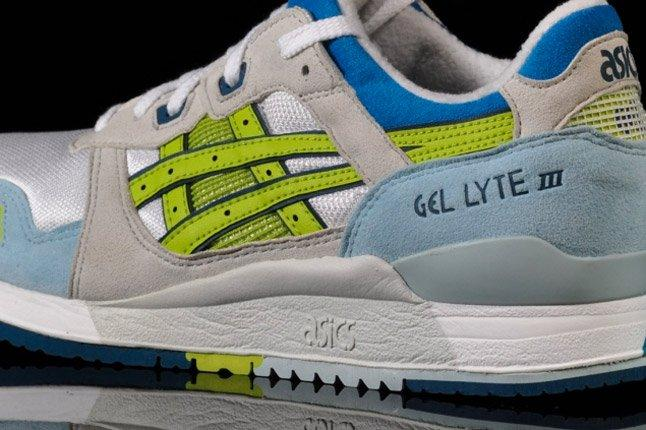 Asics Lady Gel Lyte Iii Closeup 1