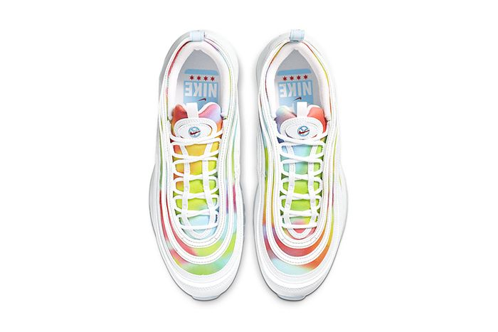 Nike Air Max 97 Tie Dye White Ck0839 100 Release Date Top Down