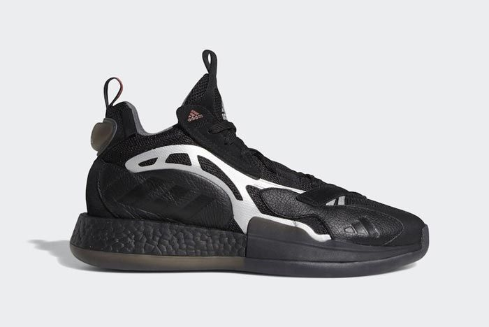 Adidas Marquee Boost 2 0 Black Lateral