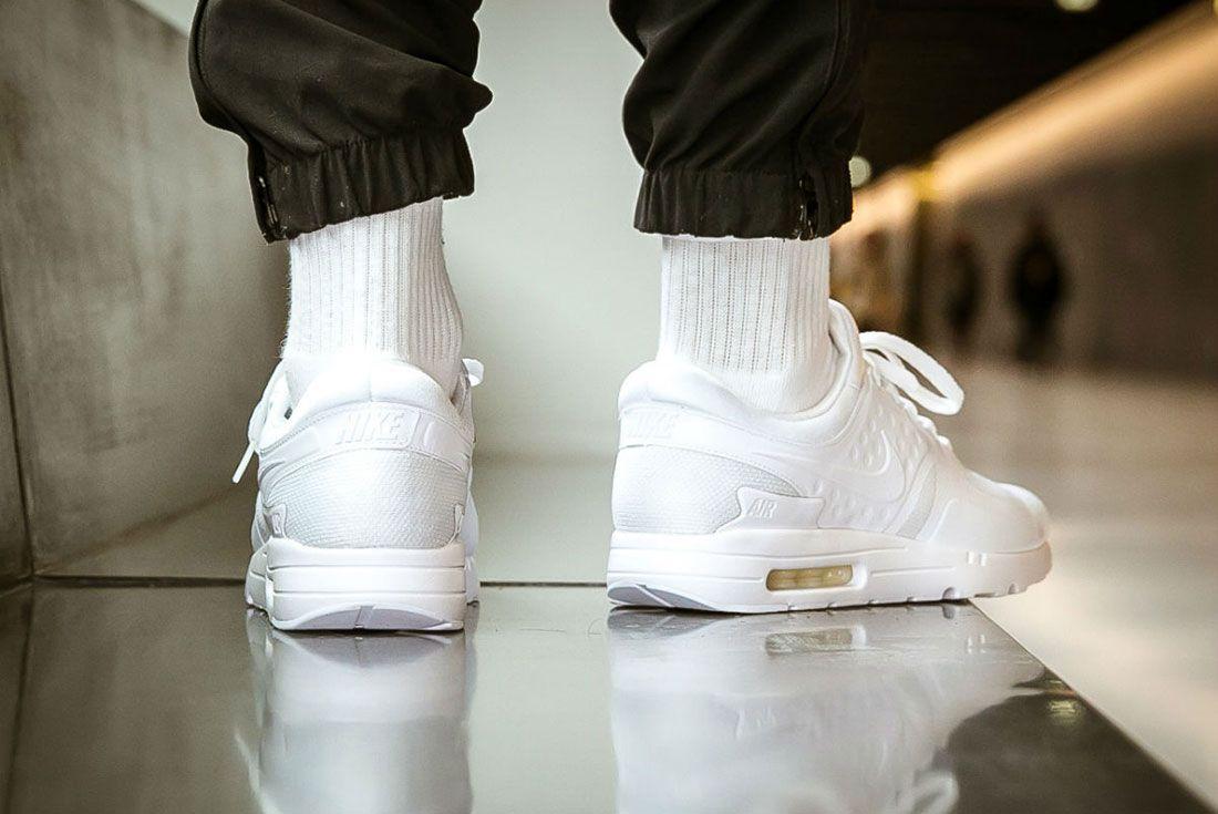 Nike Air Max Zero Triple White 4