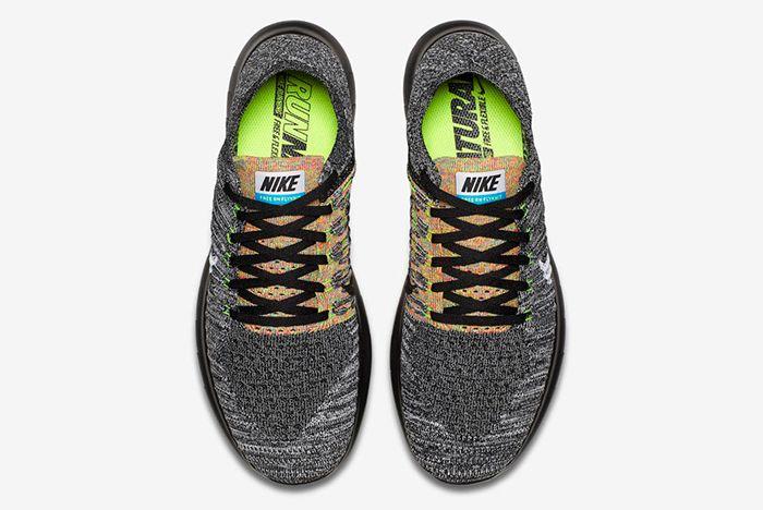 Nike Free Rn Flyknit Blackblue Glow5