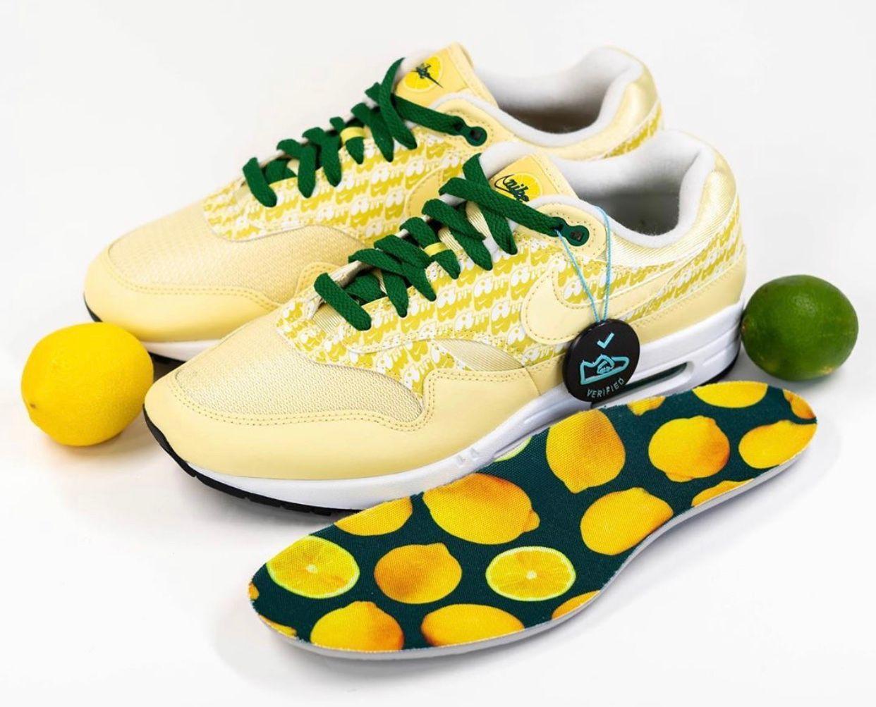 Nike Air Max 1 Lemonade Angled