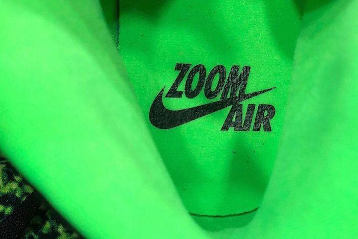 Air Jordan 1 Zoom Black Rage Green Ck6637 002 Release Date Leak 5