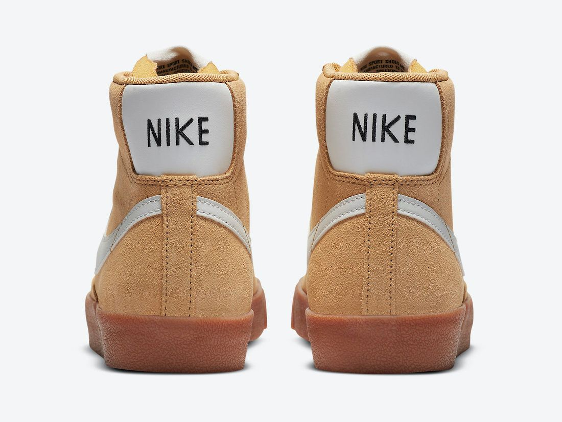 Nike Blazer Mid Wheat Gum