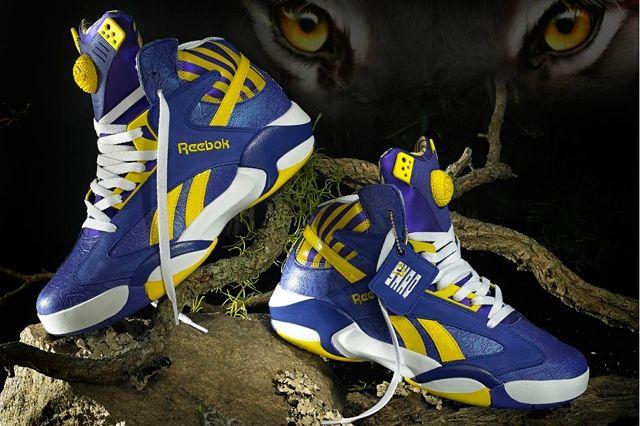 Reebok Classic Shaq Attaq Lakers 7