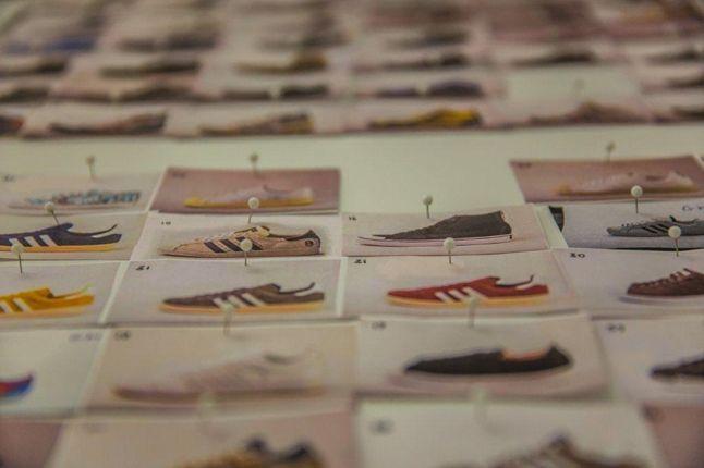 Adidas Spezial Exhibition Pinboard