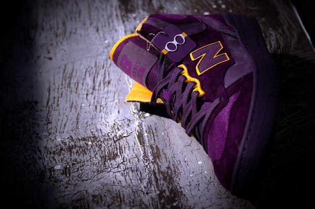 Packer Shoes New Balance 740 Purple Reign Bump 5