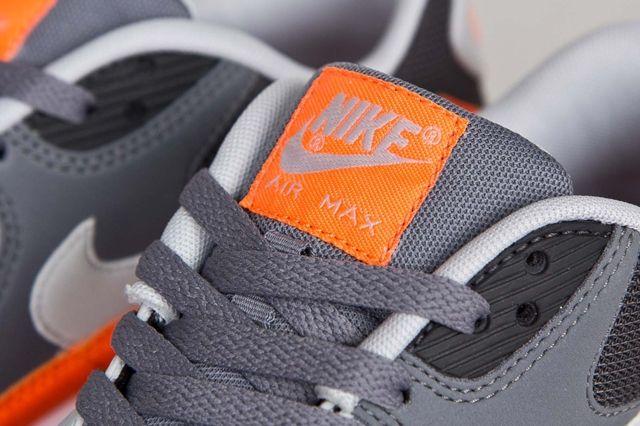 Nike Air Max 90 Anthracite Total Orange 1
