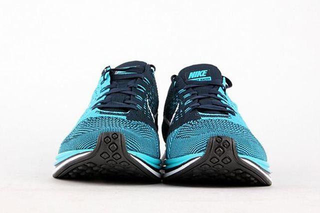 Nike Flyknit Racer Turquoise 3