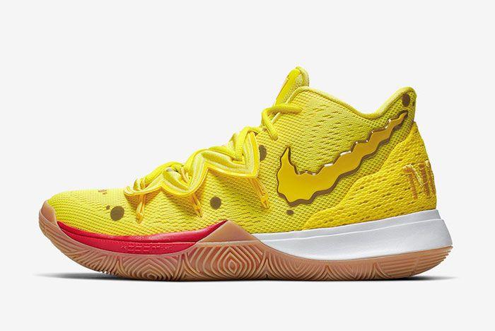 Nike Kyrie 5 Spongebob Patrick Star Left