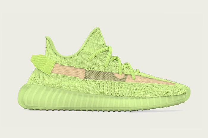 Adidas Yeezy Boost 350 V2 Glow Release Date Lateral Hero