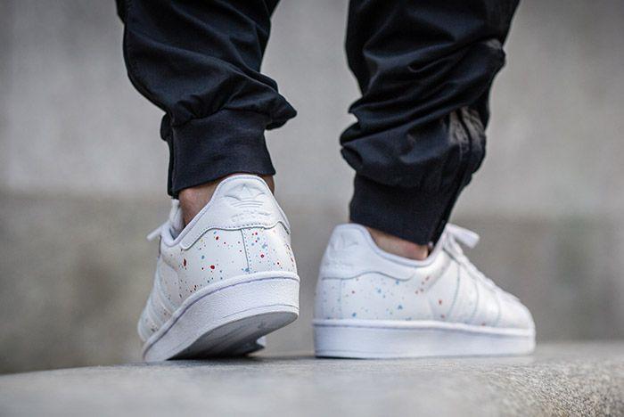 Adidas Superstar Speckled White Multi 1