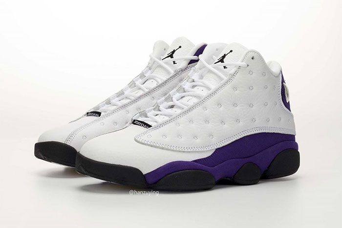 Air Jordan 13 Lakers Quarter