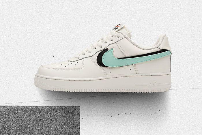 Nike Af1 Swoosh Pack Bone Sneaker Freaker 1