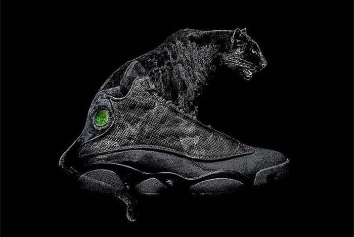 Air Jordan 13 Black Cat 1