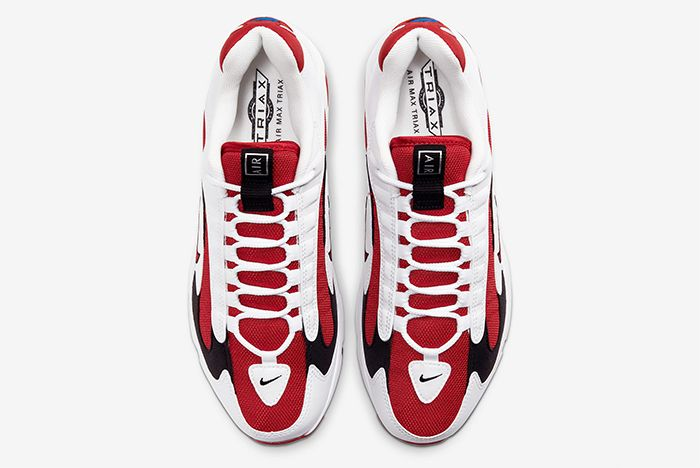 Nike Triax 2 White Red Top