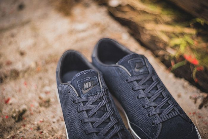 Nike All Court 2 Low Marine Blue Suede 2