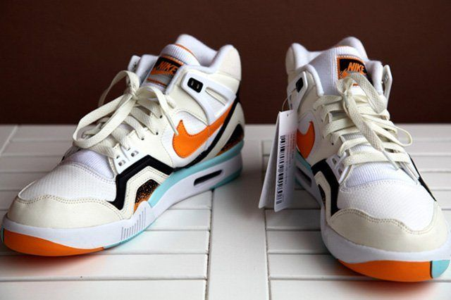 Nike Air Tech Challenge Ii White Kumquat 4