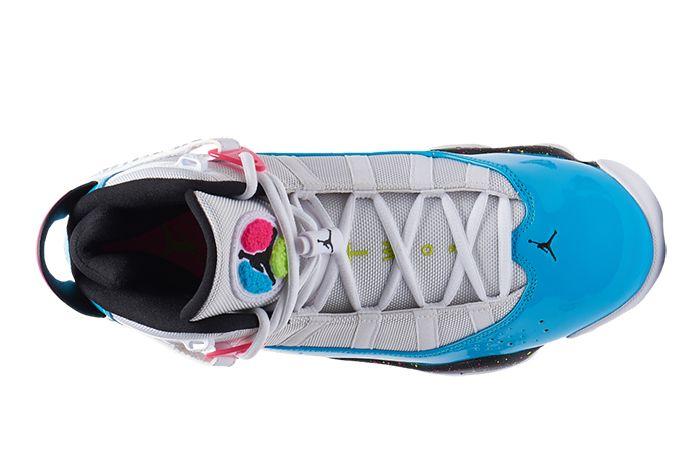 Jordan 6 Rings Light Blue Fury Top
