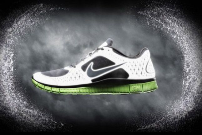 Nike Free Run Plus 3 Shield Green Black Profile 2012 1