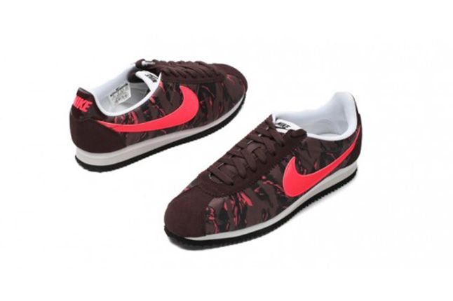 Nike Cortez Prm Tiger Camo Pack Red 4 1