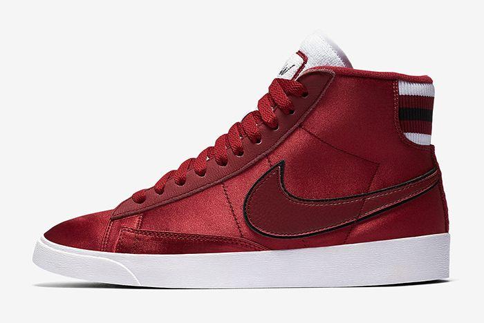 Nike Blazer Satin Red 1