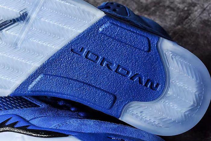 Air Jordan 5 Blue Suede9