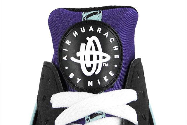 Nike Air Huarache Black Court Purple 4