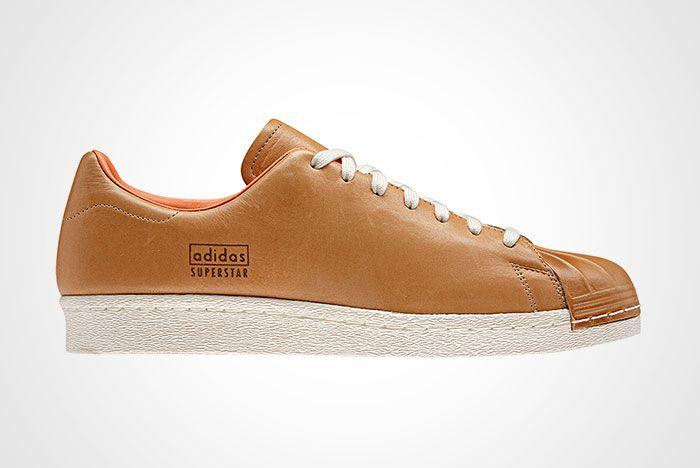 Adidas Superstar 80 S Clean Tan 2