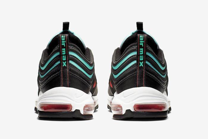 Nike Air Max 97 Ember Glow Heels