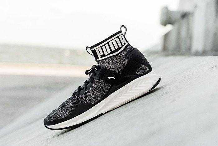 Puma Evoknit Black White 1