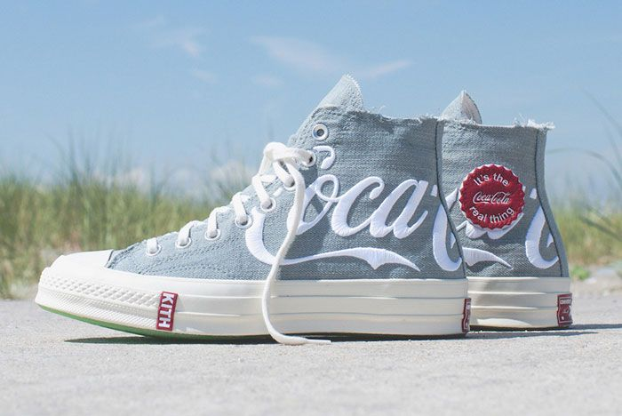 Kith Coca Cola Converse Chuck 70 Side Patch
