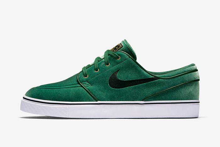 Nike Sb Zoom Stefan Janoski Green Velvet4