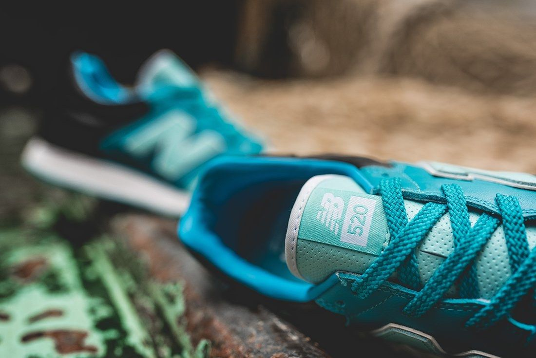 Hanon X New Balance U520 Hnf Fishermans Blues 4