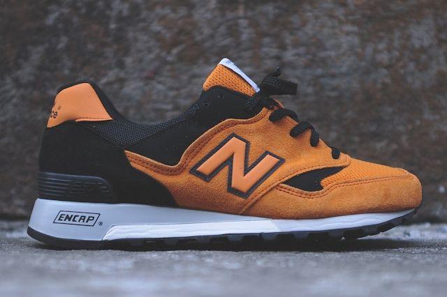 New Balance M577 Orange Black 7