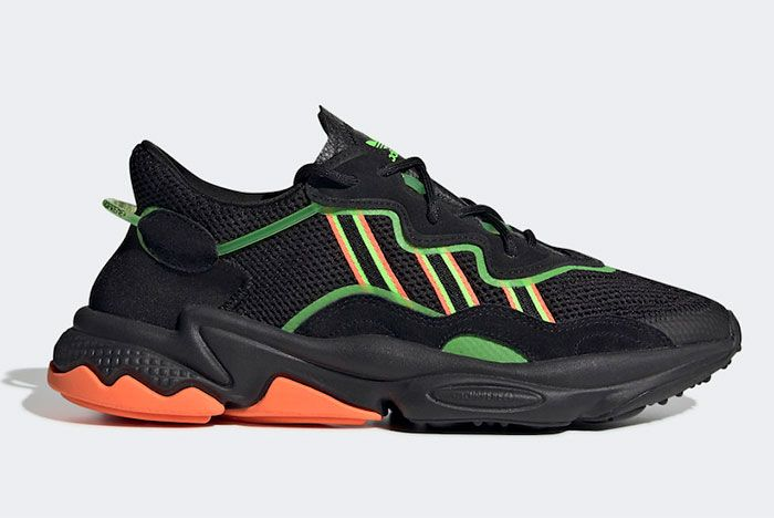 Adidas Ozweego Green Black Right