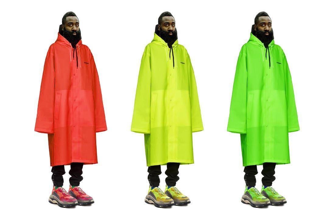 James Harden Balenciaga Outfit