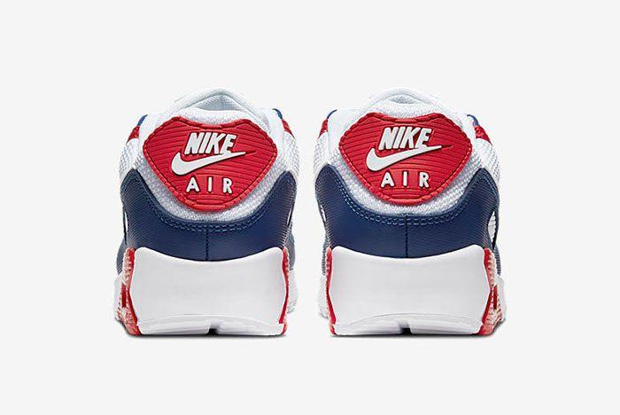 Nike Air Max 90 Cw5456 100 Heel Shot