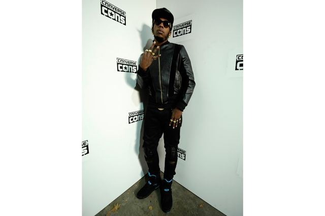 Converse Cons Sneaker Launch Trinidad James