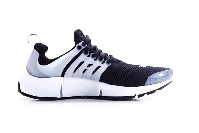 Nike Air Presto Tuxedo Black White 1