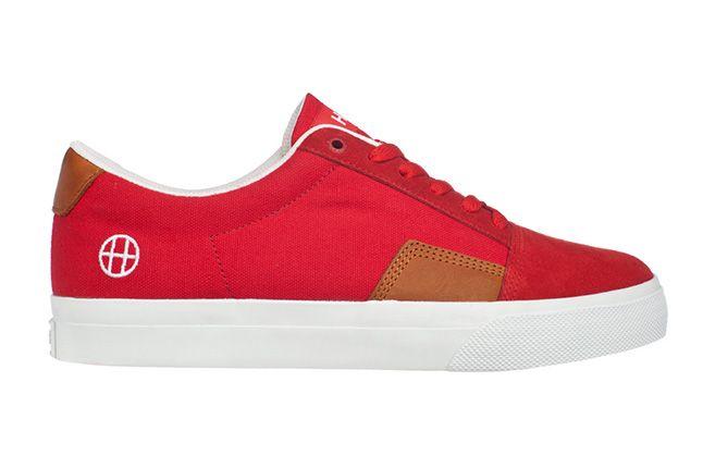Huf Footwear Southern Red Tan Single 1