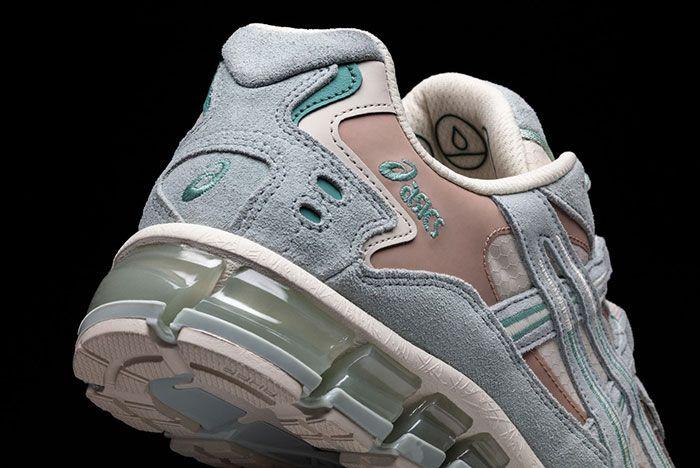 Asics Gel Kayano 5 360 Gore Tex Oatmeal Heel Detail