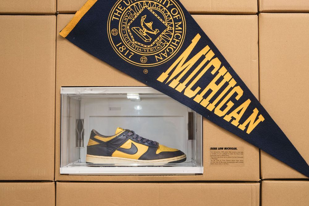 Limited Edt Nike Dunk Exhibition