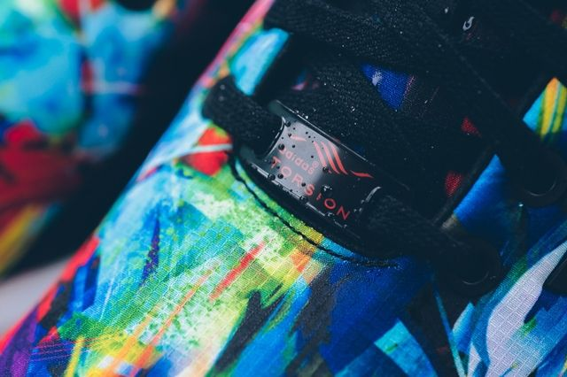 Adidas Zx Flux Printed Tropics 3