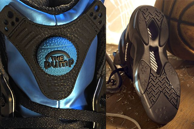 Reebok Shaq Attaq Black Azure Blue 3