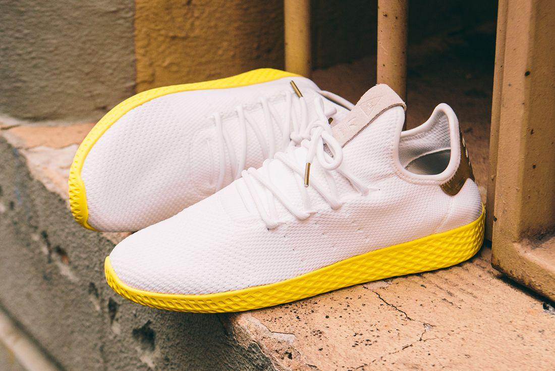 Pharrell Williams X Adidas Tennis Hu Goldfeature