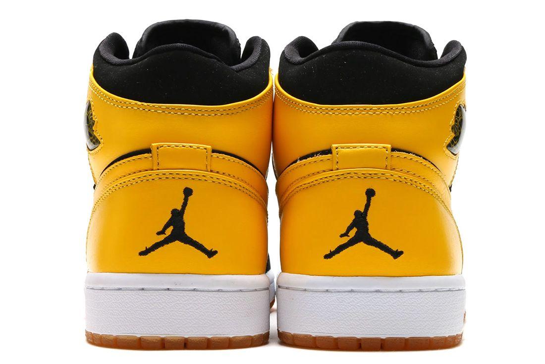 Nike Air Jordan 1 Varsity Maize 10
