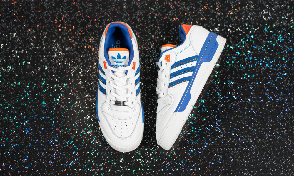 Swarovski Crystals Bling Out the adidas Rivalry Low 'Knicks'