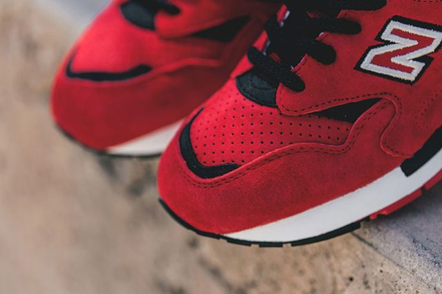 New Balance 1600 Pinball Red 4