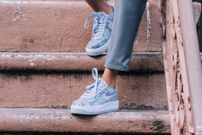 Air Force 1 Upstep Low Glass Slipper 3